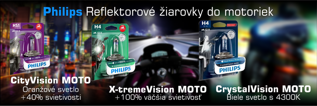 Philips ziarovky do motoriek