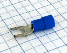 Vidla izolovaná 4,3mm modrá