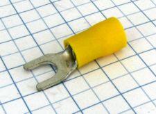 Vidla izolovaná 5,4mm žltá