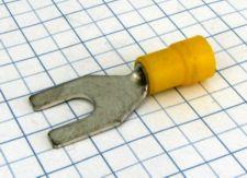 Vidla  izolovaná 8,4mm žltá