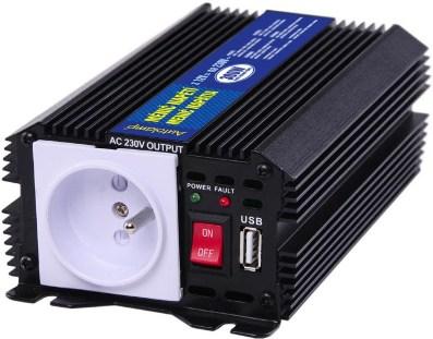 4621210db8083 Menič napätia 12V/230V 300W+USB výstup