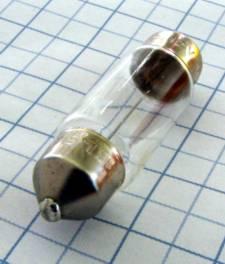 Žiarovka 6V 5W SV8,5 10x37mm sufit