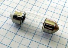 Žiarovka 12V 10W SV8,5-31 d-11mm sufit