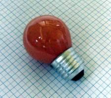 Žiarovka 240V 25W E27 iluminačná-oranžová 46x75mm