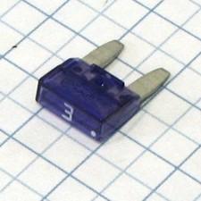 Mini nožová poistka 3A - fialová