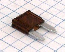 Mini nožová poistka 7,5A - hnedá