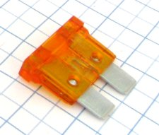 Autopoistka UNI 40A Oranžová nožová ELED