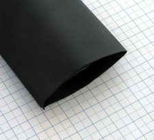 Zmršťovacia izolačná bužírka PBF Čierna 25,4/12,7mm - 1m