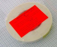 Obojstranná lepiaca páska 15mm x 10m - biela - penová