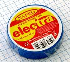 Elektro izolačná páska PVC 15mm X 10m - modrá