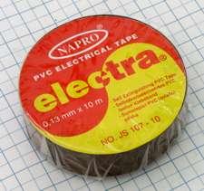 Elektro izolačná páska PVC 15mm X 10m - hnedá