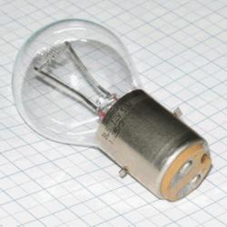 Žiarovka 12V 50W BA20D P8022 (112760) 35x63mm projekčná a pre mikroskopy