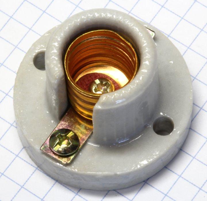 Objímka závit E14 porcelan OR1214 (126978)