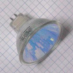 Žiarovka 12V 50W GX5,3 MR16 červená