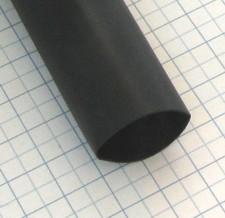 Zmršťovacia izolačná bužírka IAKT Čierna 19/6mm - 1,2m s lepidlom