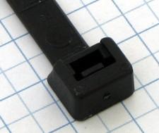 Páska viazacia 365 x 7,8mm čierna-100ks- balenie