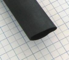 """Zmršťovacia bužírka samozhášavá 12,7/6,4mm čierna-1/2"""""""