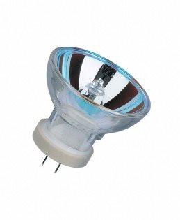 Žiarovka 12V 75W G5,3x4,8 MR11 halogen reflektor modrá OSRAM