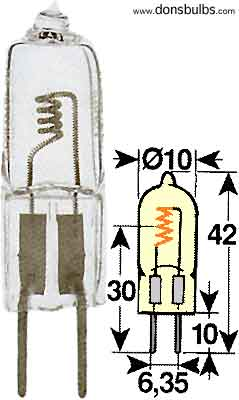 Žiarovka 22,8V 40W G6,35 halogen Orbitec H122840