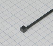 Páska viazacia 75 X 2,2mm-čierna-100ks- balenie