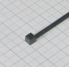 Páska viazacia 200 X 2,6mm čierna-100ks- balenie