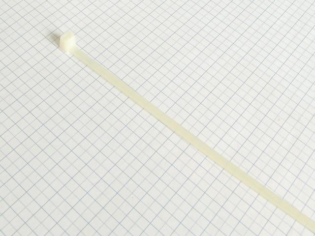 Páska viazacia 200 X2,6mm -Biela-100ks-balenie