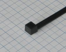 Páska viazacia 160 X 4,5mm čierna-100ks-balenbie