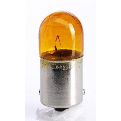 Žiarovka 12V RY10W 10W BAU15s - oranž.- premium