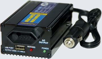 Menič napätia  12V/230V 150/400W+ USB port