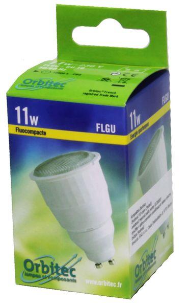 Žiarivka kompaktná 11W GU10 teplá biela CFL