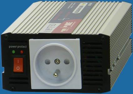 Menič napätia z 24V na 230V 300W sínusový výstup