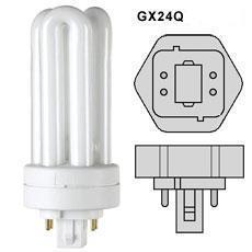 Žiarivka kompaktná 18W GX24Q-2 teplá biela