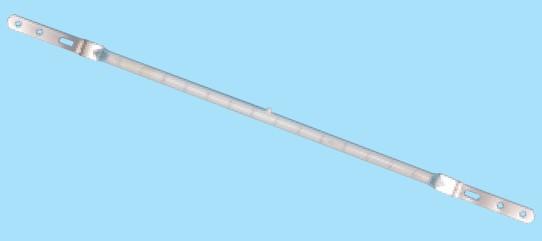 Žiarovka 220-250V 1000w R7s/x 12x370mm infračervená halogenová
