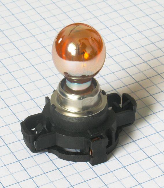 Žiarovka 12V 24W PGU20/4 - HiPerVision PY24W SilverVision