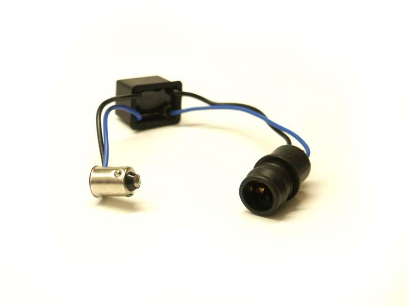 Eliminárot chybových hlásení CANbus LED 12V odpor, rezistor /pätica BA9s - T10/