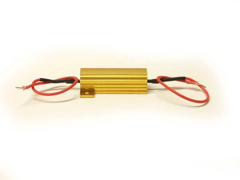 Eliminárot chybových hlásení CANbus LED 12V do 50W odpor, rezistor