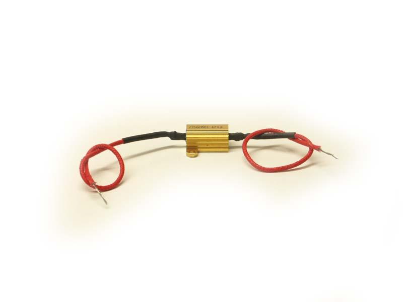 Eliminátor chybových hlásení CANbus LED 12V do 10W odpor, rezistor
