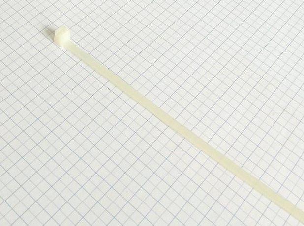 Páska viazacia  290 X 4,8mm - Biela-100ks- balenie