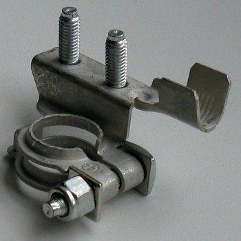 Auto svorka batériová pocínovaná meď (-) 2skrutk.