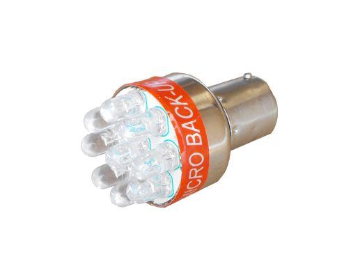 Alarm cuvací LED 12V žiarovka Ba15s