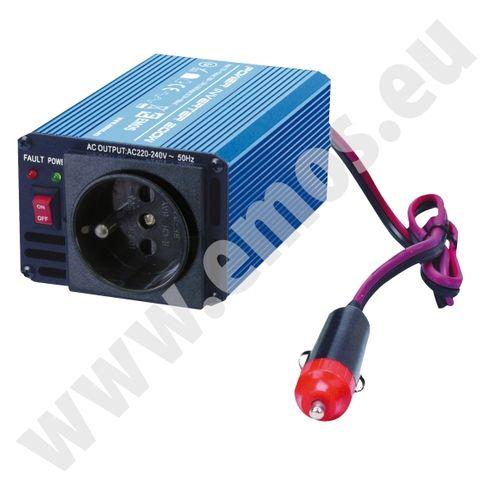 Menič napätia 12V/230V 200W (400W) + USB - EMOS