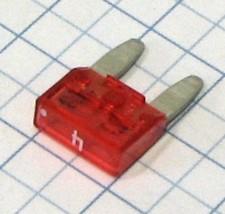 Mini nožová poistka 4A - ružová - Biffi&Premoli