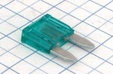 Mini nožová poistka 30A - zelená - Biffi&Premoli