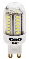 LED 45 230V 2,1W G9 178lm studená biela MINI