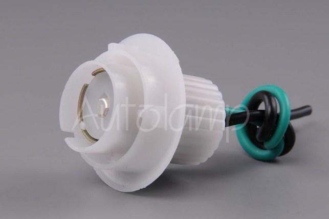 Držiak žiarovky Ba15s plastová biela